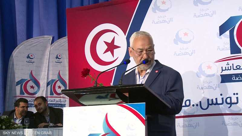 تونس.. شعارات رافضة للغنوشي وحزبه في الجنوب