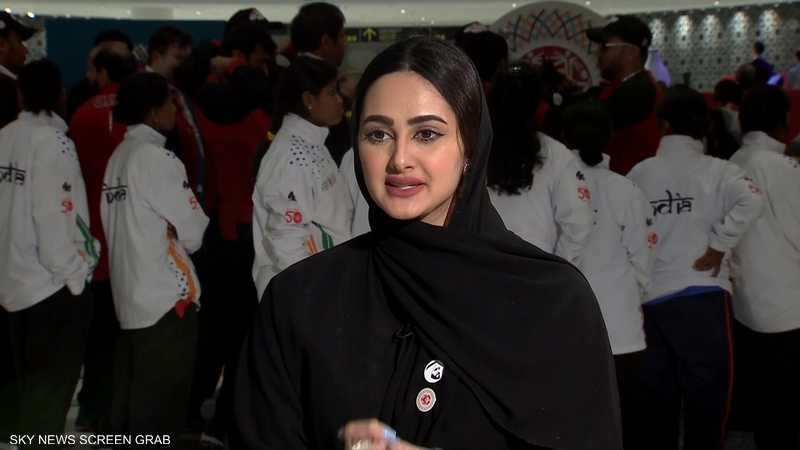 سفيرة الأولمبياد الخاص مهرة لطفي