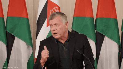 """العاهل الأردني: القدس """"خط أحمر"""""""