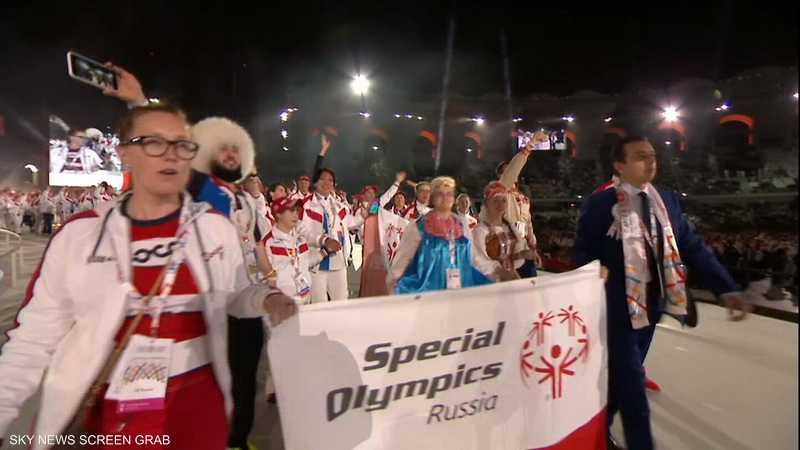 روسيا في الأولمبياد الخاص