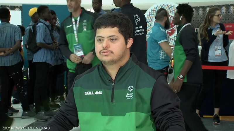 معن الزيد لاعب المنتخب السعودي لكرة السلة