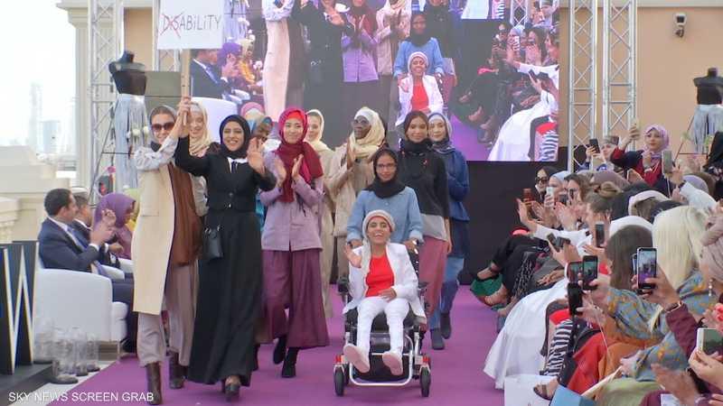 باكستانية تصمم ملابس لأصحاب الهمم