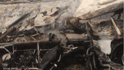 عشرات القتلى بحادث سير مأساوي في غانا