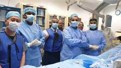 الفريق الطبي الكويتي - صورة من كونا