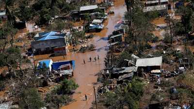 """""""إيداي"""" يواصل حصد مئات الضحايا في موزمبيق"""