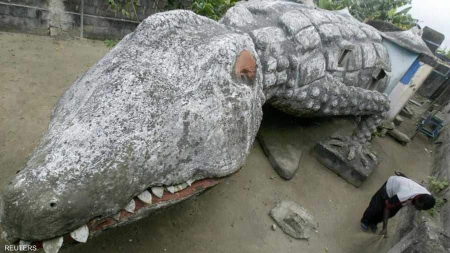 بيت التمساح