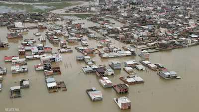 السيول العارمة تضرب 25 من محافظة إيرانية