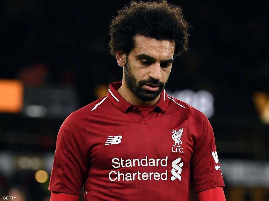 صلاح لم يسجل في آخر 7 مباريات مع ليفربول