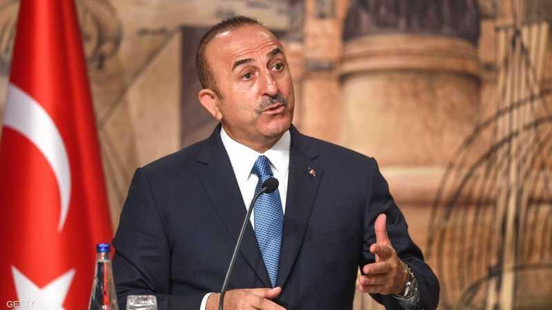 وزير خارجية تركيا يؤكد وقف إطلاق النار