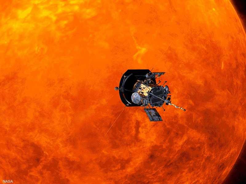 المسبار الشمسي باركر يقترب أكثر من الشمس