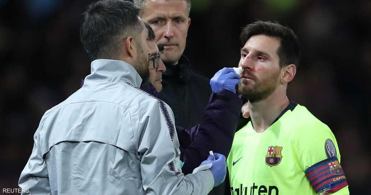 مدرب برشلونة يكشف حالة ميسي قبل