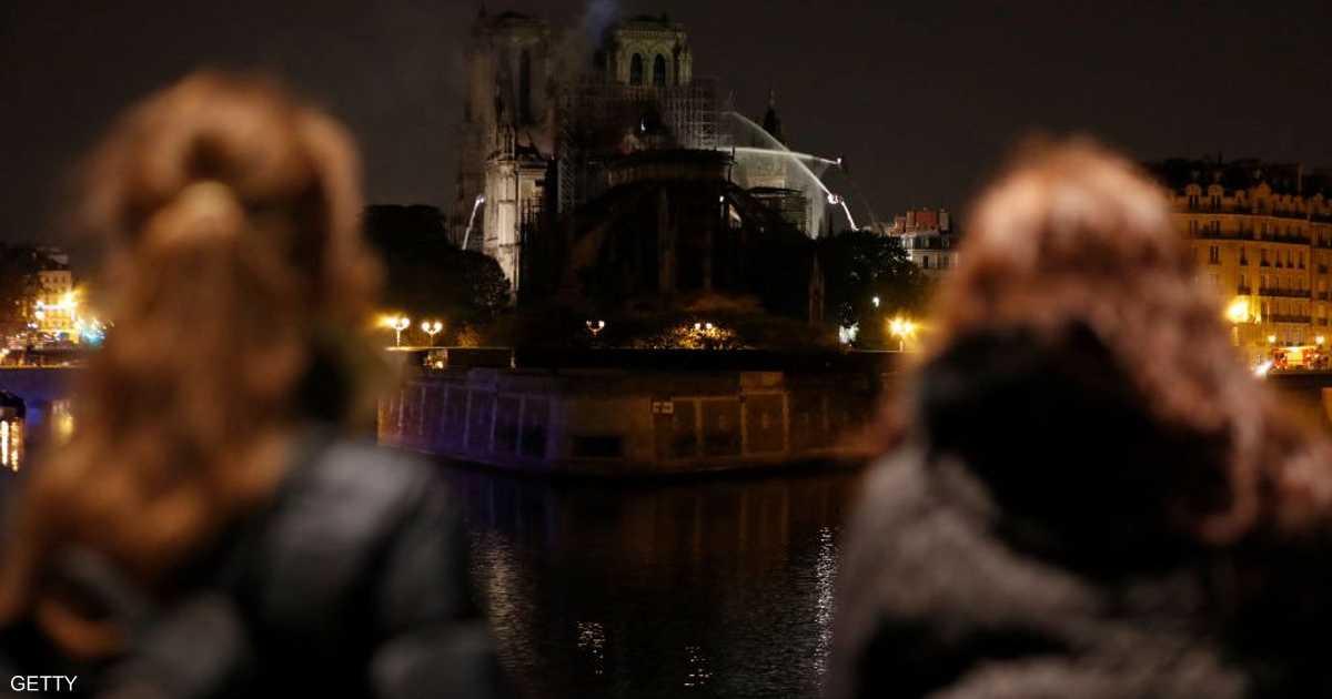 باريس.. السيطرة على حريق كاتدرائية نوتردام و
