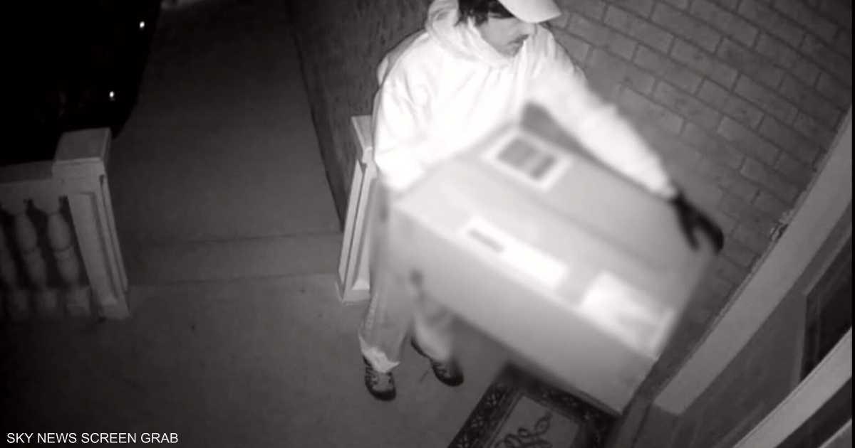 بعد فيديو الجريمة.. الشرطة الكندية تلاحق عامل توصيل مزيف