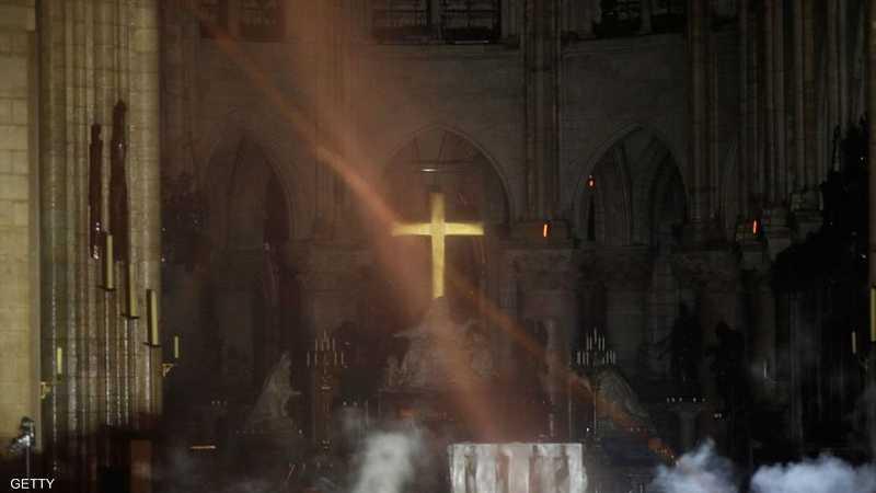 الصورة أصبحت بين الأكثر تداولا بعد حريق كاتدرائية نوتردام
