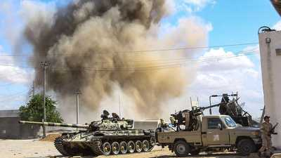 المسماري: جماعات إرهابية في طرابلس تقصف أحياء بالمدينة