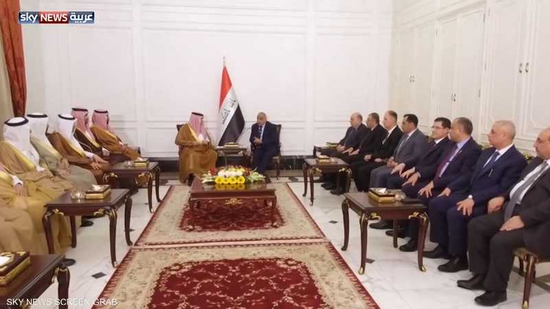 رئيس الوزراء العراقي يزور الرياض