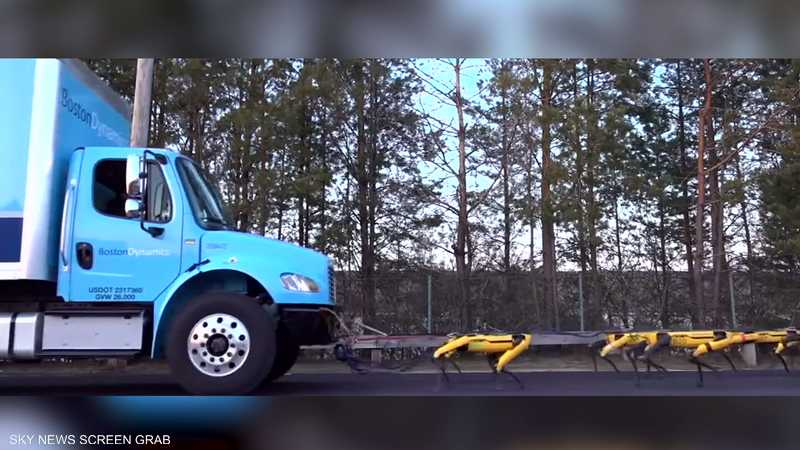 """Boston Dynamics"" تستعرض قدرات الروبوت ""Spot"""