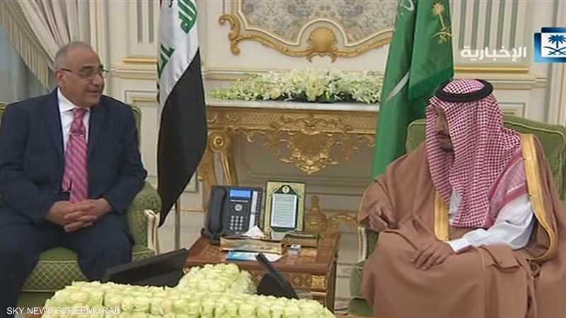 بيان سعودي عراقي يتناول تعزيز العلاقات بين البلدين