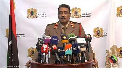 المتحدث باسم الجيش الوطني الليبي أحمد المسماري