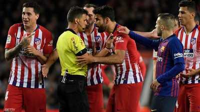 """قرار من أتلتيكو مدريد يدفع """"نجمه المشاكس"""" للتمرد"""