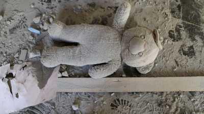 آثار القصف على أبوسليم في طرابلس