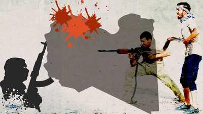 """إنفوغرافيك.. ميليشيات طرابلس و""""تحالفات الشر"""" في الغرب الليبي"""