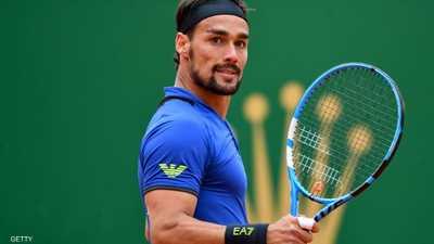 """فونيني """"المصاب"""" يحقق انتصاره الأبرز في عالم التنس"""
