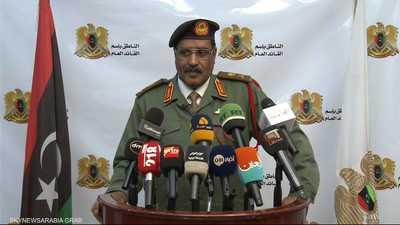 المسماري: ضرباتنا دقيقة وتتفادى المدنيين في طرابلس