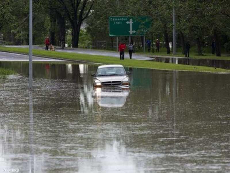 ذوبان الثلوج تسبب في فيضانات شرق كندا