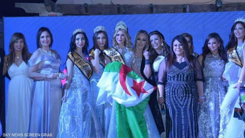 جزائرية تتوج بلقب ملكة جمال العرب