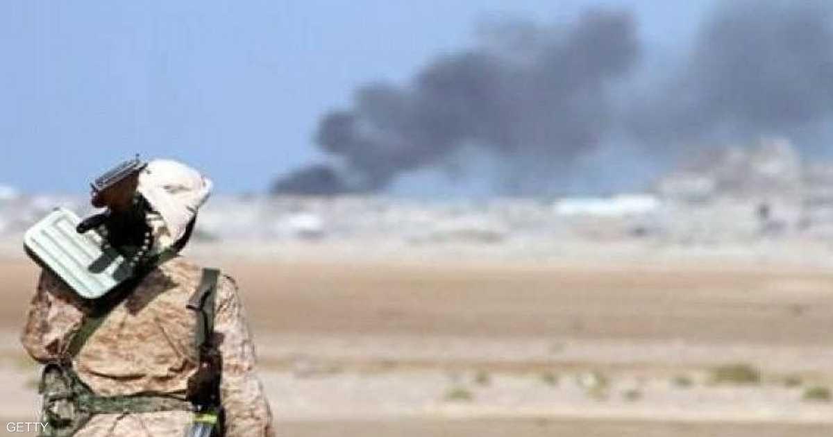 التحالف العربي يشن غارات على مواقع حوثية في الضالع