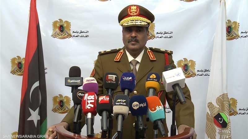 المتحدث باسم الجيش الوطني الليبي، اللواء أحمد المسماري