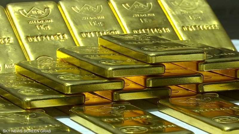 الذهب يفقد جميع مكاسبه