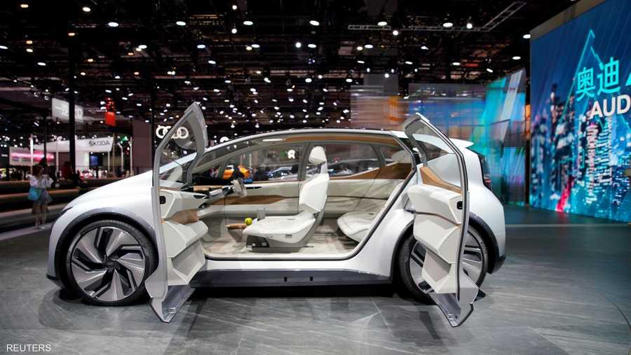 """شركة """"أودي"""" عرضت نموذجا مستقبليا لسيارتها ذاتية القيادة AI: ME."""