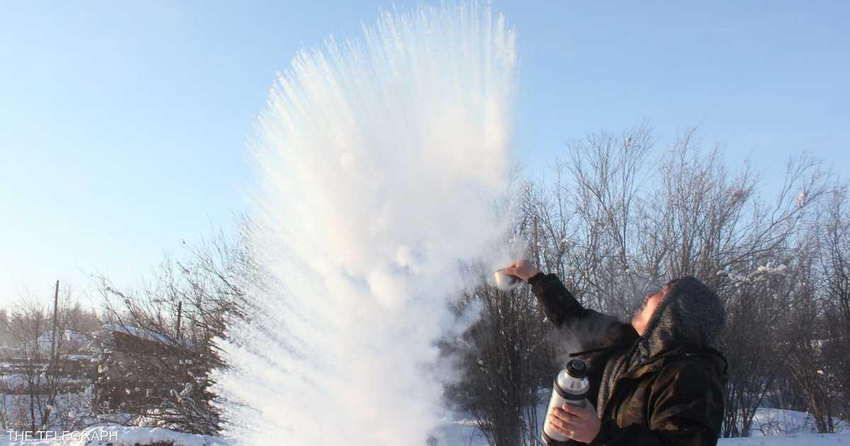 أبرد مكان مأهول على الأرض.. حيث يتجمد الماء في الهواء