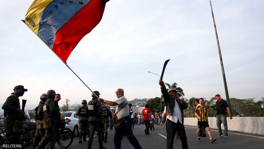 وسرعان ما لقت دعوة مادورو قبولا لدى أنصاره