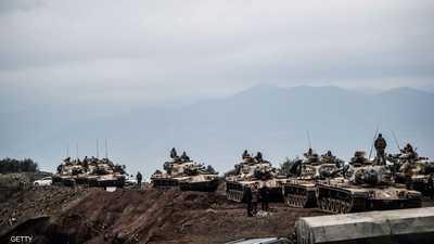 دبابات تركية على الحدود مع سوريا - أرشيفية