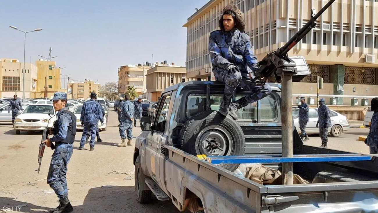 قوات تابعة للجيش الليبي
