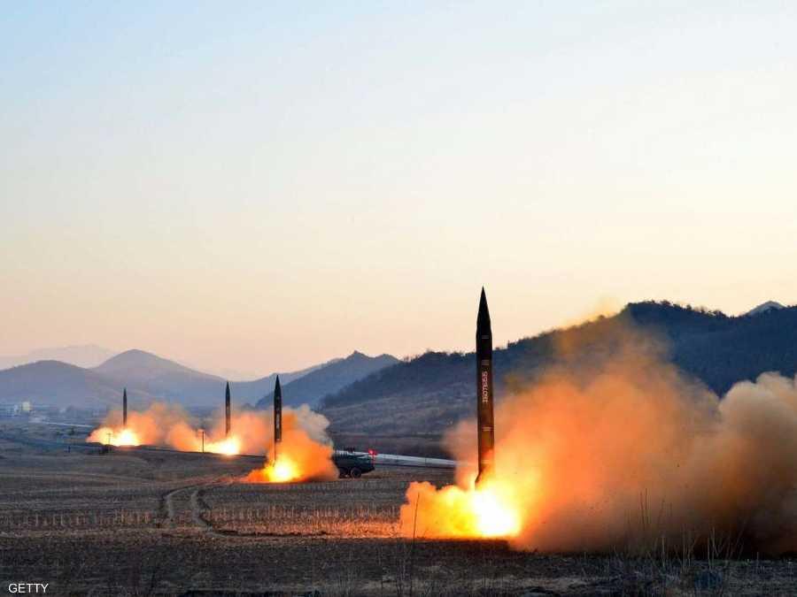 يقول خبراء إن القذائف لم تنطلق من صواريخ باليستية. أرشيف