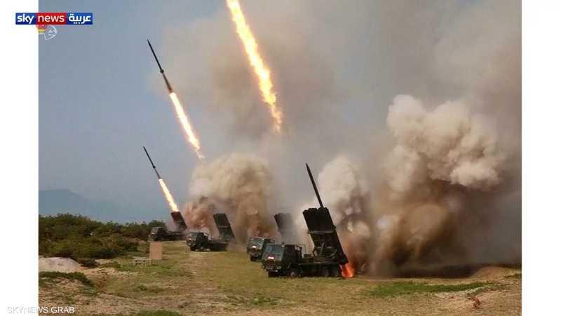 تجربة صاروخية كورية