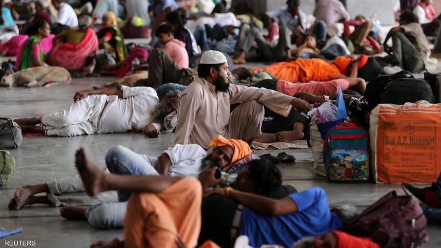 نجحت الهند في إجلاء 1.2 مليون شخص كانوا في مسار العاصفة الضخمة بشكل سريع.