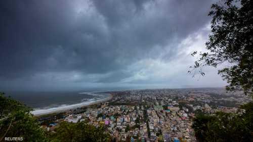 """ضرب الإعصار """"فاني"""" أوديشا شرق الهند"""