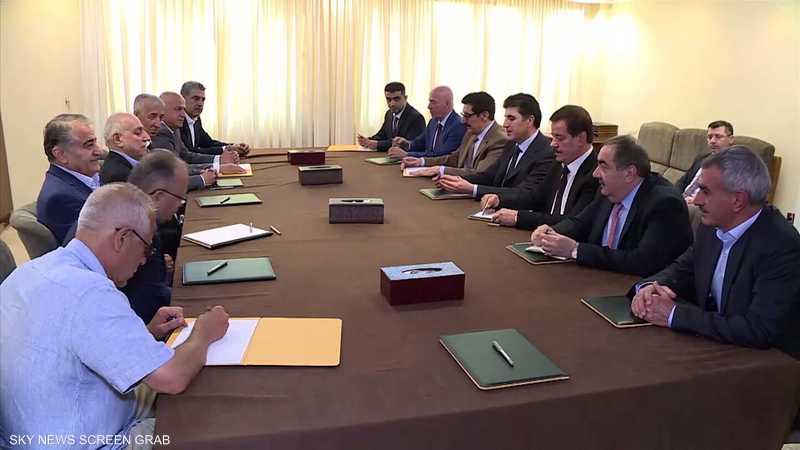 تفاهمات تفضي إلى تشكيل حكومة إقليم كردستان