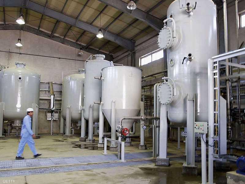 تحتفظ إيران بنحو ستة أطنان من الماء الثقيل.