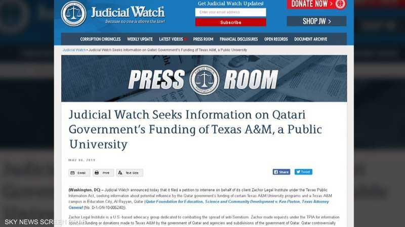 منظمة حقوقية أميركية: قطر دعمت الإرهابيين والمتطرفين