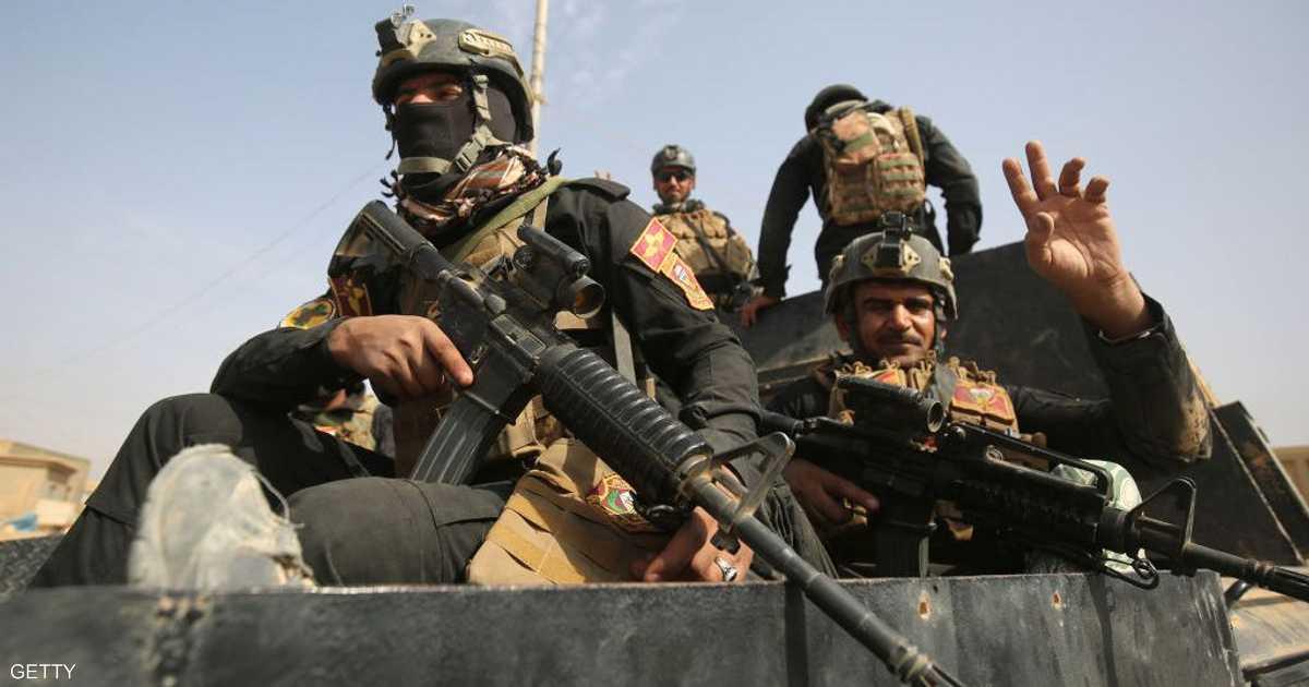القوات العراقية تتعقب فلول داعش في الأنبار