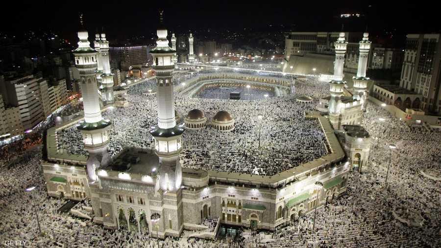 أرشيفية للمسجد الحرام في مكة المكرمة