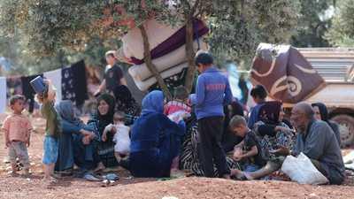 """الأمم المتحدة تحذر من """"كارثة إنسانية"""" في الشمال السوري"""