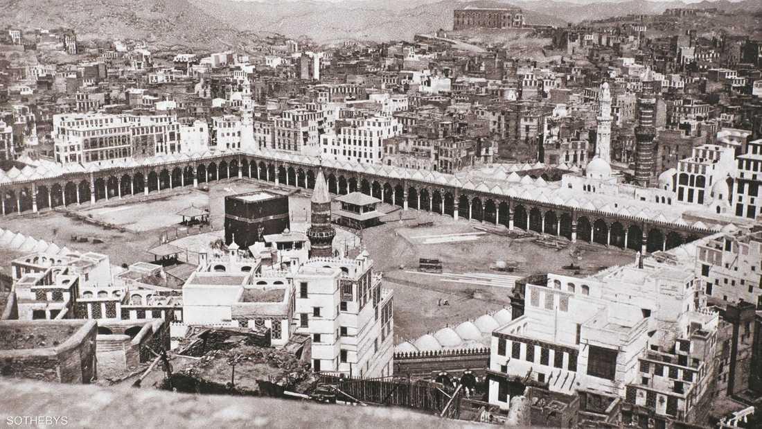 أول صورة لمكة بيعت مقابل ربع مليون دولار