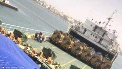 عشرات الآليات العسكرية وصلت طرابلس
